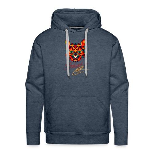 Straßen Cat (neumodisches Design) - Männer Premium Hoodie