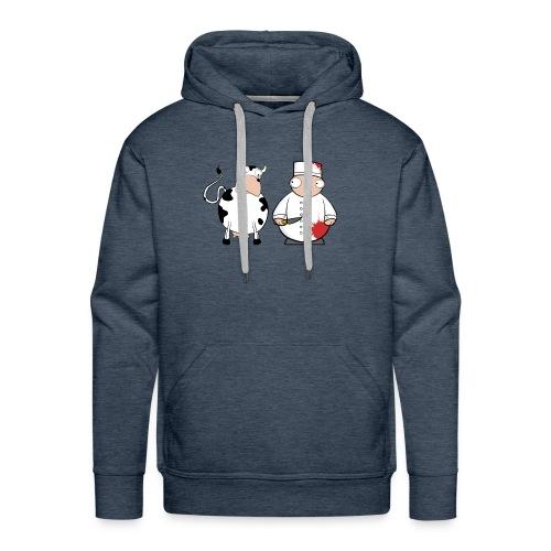 Friends ? - Sudadera con capucha premium para hombre