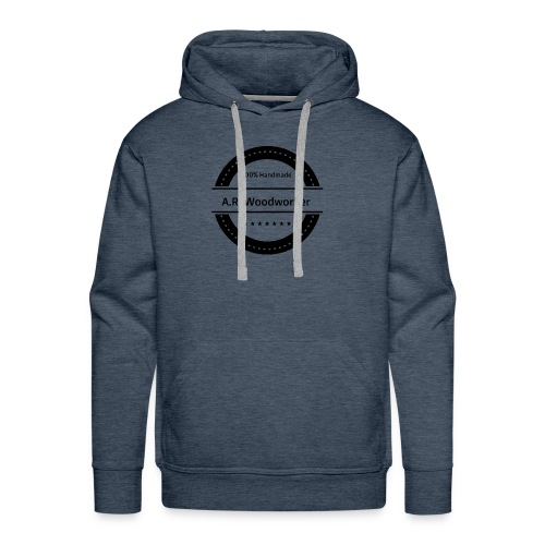 A.R. Woodworker Logo - Männer Premium Hoodie