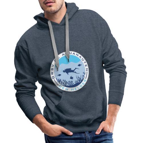 Logo OWSV de Aquanauten - Mannen Premium hoodie