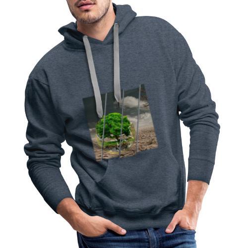 Terre - Sweat-shirt à capuche Premium pour hommes