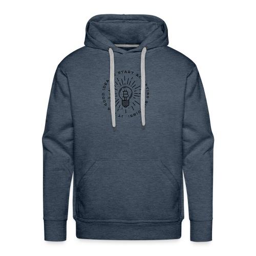 BTC labels Idea - Sweat-shirt à capuche Premium pour hommes