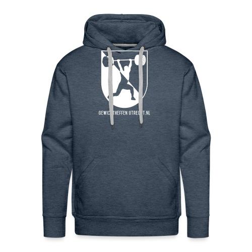 Gewichtheffen Utrecht Logo Trui - Mannen Premium hoodie