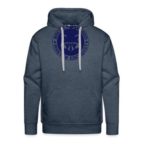 Rocket raccoon logo full - Sweat-shirt à capuche Premium pour hommes