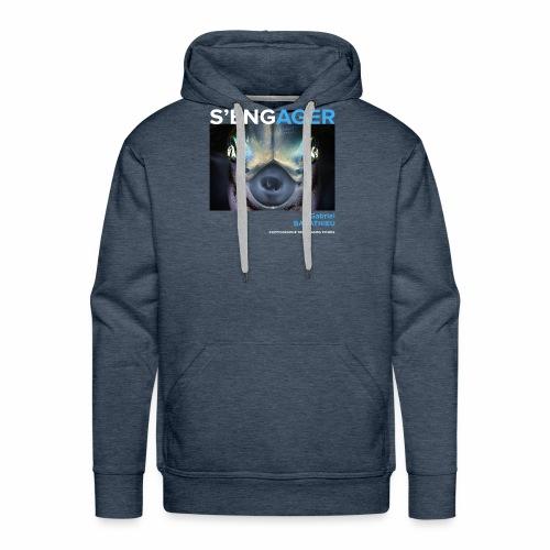 1 Achat = 1 Don à l'association Deep blue explore - Sweat-shirt à capuche Premium pour hommes
