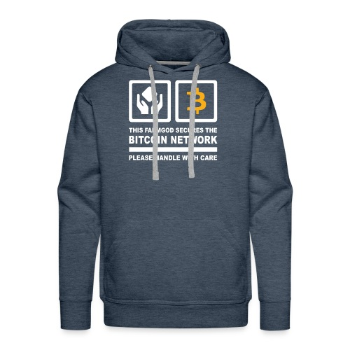 SECURE THE NETWORK - Männer Premium Hoodie