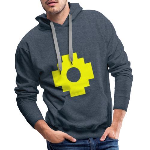 croix1 - Sweat-shirt à capuche Premium pour hommes