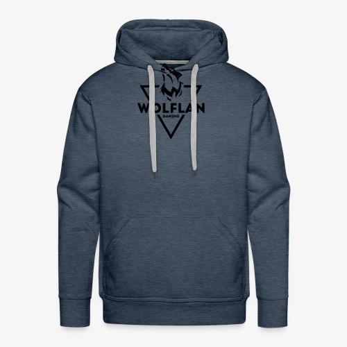 WolfLAN Gaming Logo Black - Men's Premium Hoodie