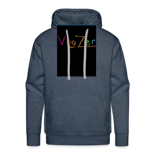 Womens V neck black New - Men's Premium Hoodie