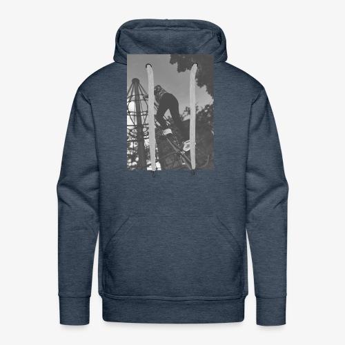 Banx Black & White design - Men's Premium Hoodie