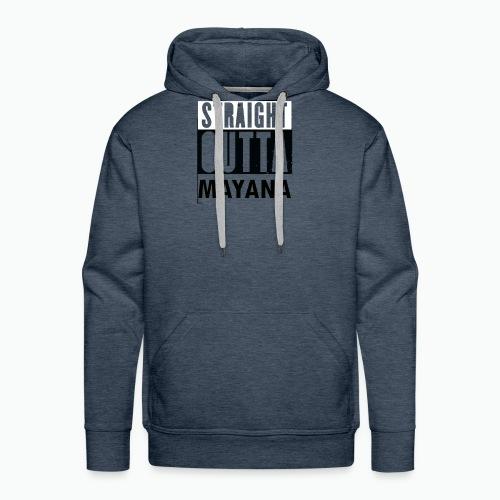 STRAIT OUTTA MAYANA - Sweat-shirt à capuche Premium pour hommes