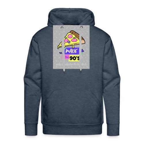 La pizza 🍕 - Sweat-shirt à capuche Premium pour hommes