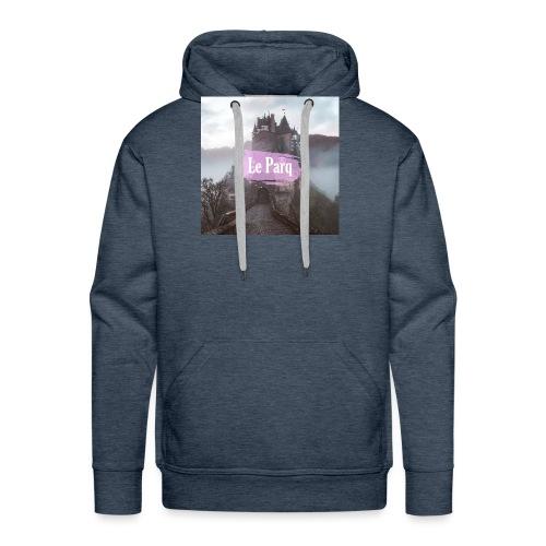 Le Parq logo - Sweat-shirt à capuche Premium pour hommes