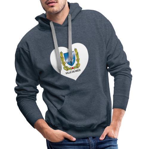 Tshirt meze new - Sweat-shirt à capuche Premium pour hommes