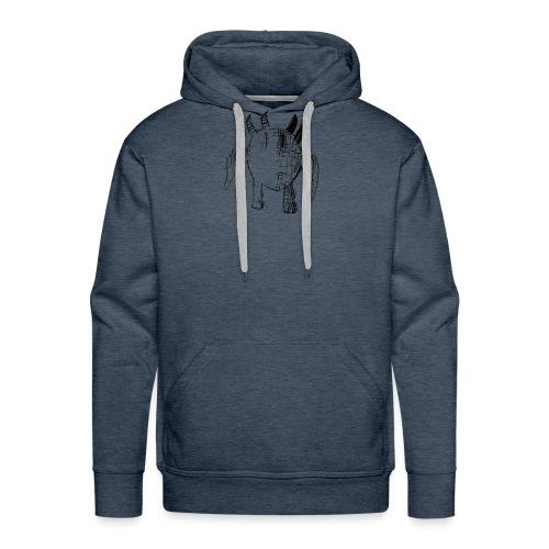 baz 5 2019 - Sweat-shirt à capuche Premium pour hommes