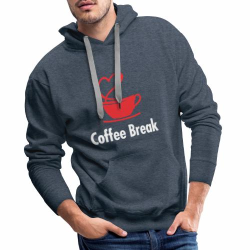 Coffee Break - Männer Premium Hoodie
