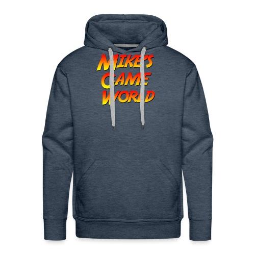 New Logo - Mannen Premium hoodie