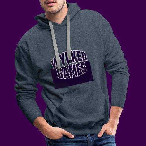 Wycked Games Logo - Men's Premium Hoodie