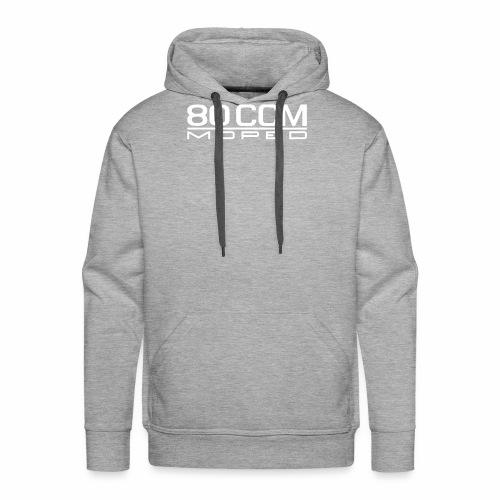 80 ccm Moped Emblem - Men's Premium Hoodie