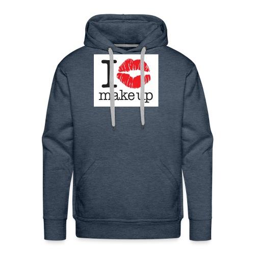 i love makeup - Men's Premium Hoodie