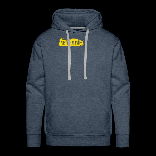 never mind - Mannen Premium hoodie