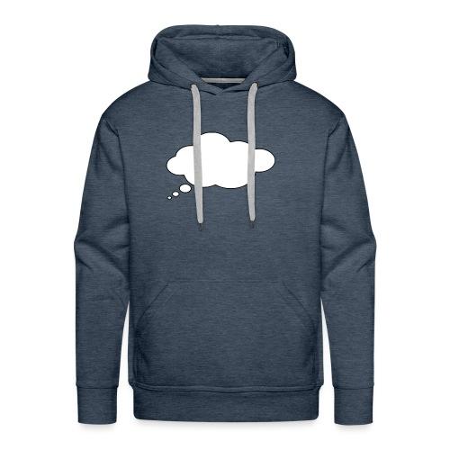 Shirt Druckerei 24 Sprechblase - Männer Premium Hoodie