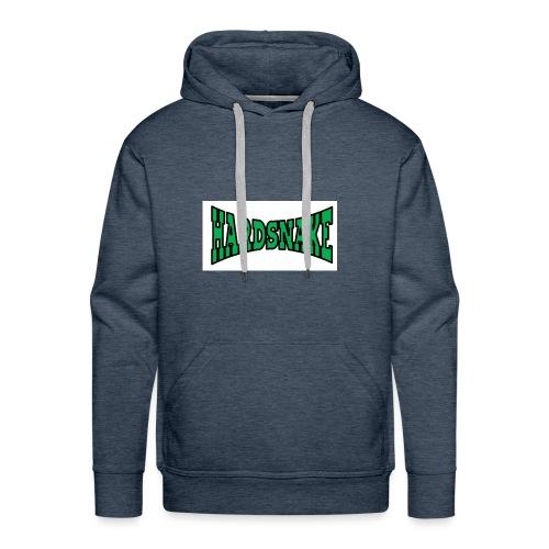 Hardsnake - Sweat-shirt à capuche Premium pour hommes
