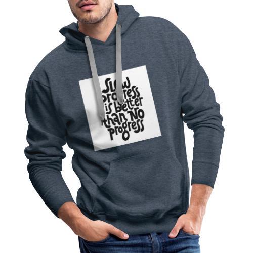 Motivational Fitness Shirt - Männer Premium Hoodie