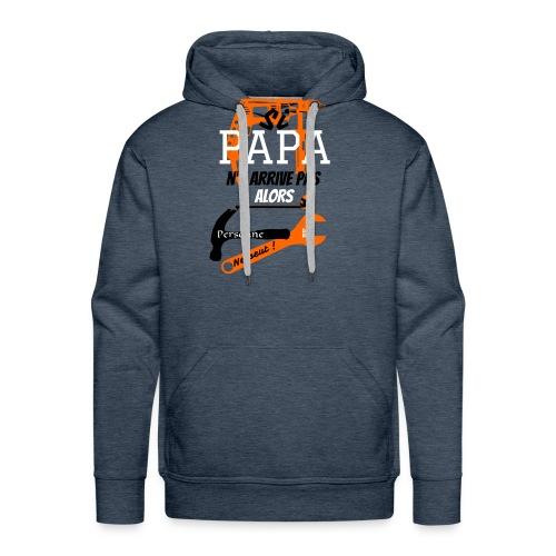Papa super bricoleur by FunriesOne - Sweat-shirt à capuche Premium pour hommes