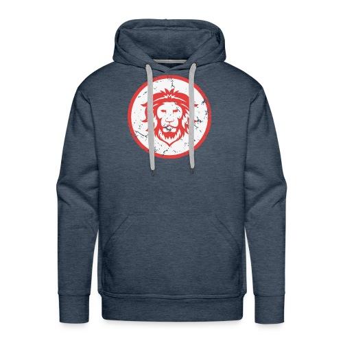 Löwe Vintage Symbol - Männer Premium Hoodie