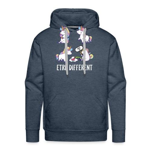Fuck you Licorne - Sweat-shirt à capuche Premium pour hommes