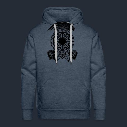 maori tattoo auf T-Shirt - Männer Premium Hoodie