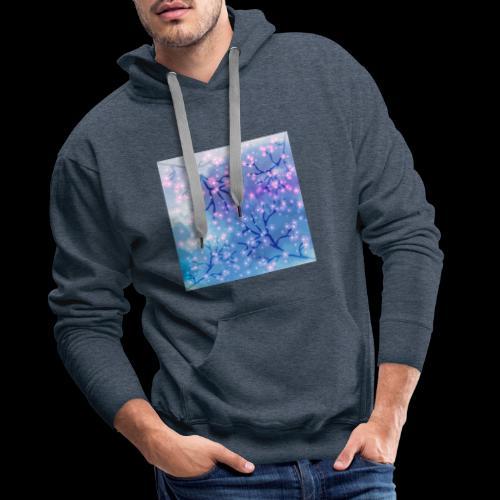 Watercolour blossoms - Men's Premium Hoodie