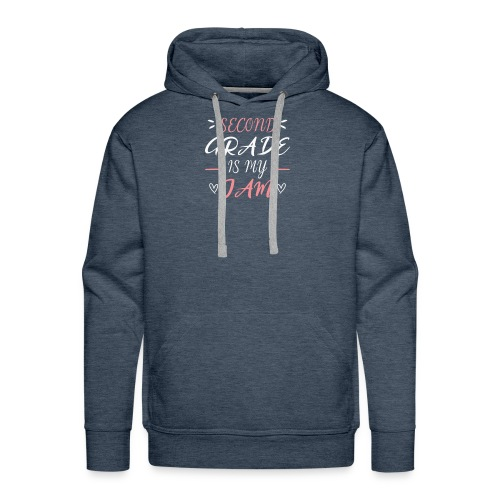 second grade is my jam - Männer Premium Hoodie