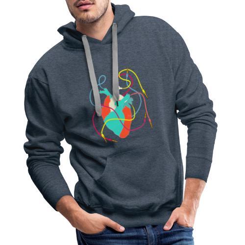Musician T-Shirt - Sweat-shirt à capuche Premium pour hommes