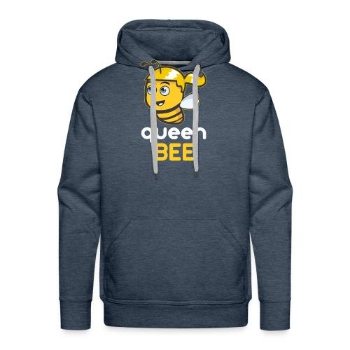 Imker: The Queen BEE - Männer Premium Hoodie
