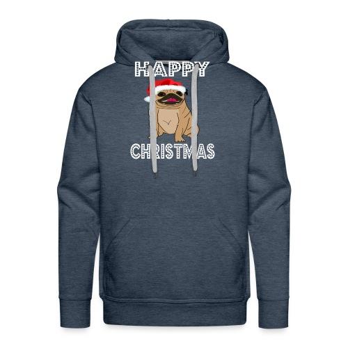 Hund Weihnachten Lustig geschenkidee Santa Claus - Männer Premium Hoodie