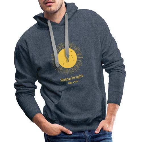 leo zodiac t shirt design maker 1426c - Herre Premium hættetrøje