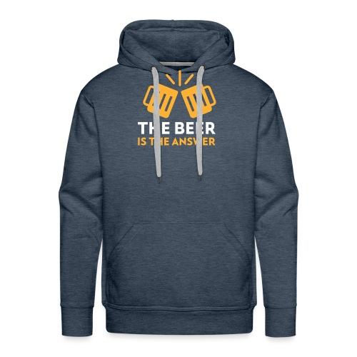 beer - Sweat-shirt à capuche Premium pour hommes