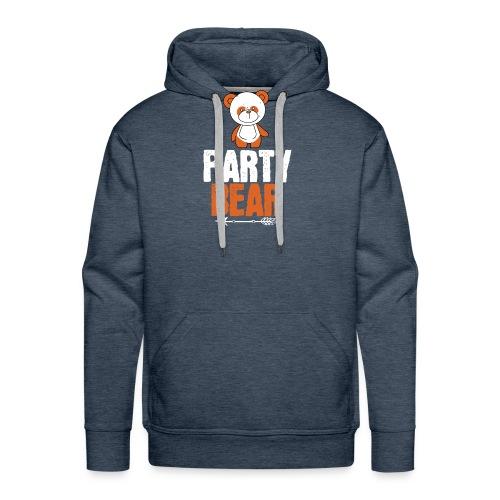 party bear - Mannen Premium hoodie