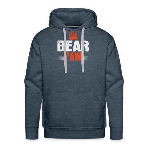 Bear paw - Mannen Premium hoodie