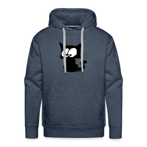 Black Cat 01 - Sweat-shirt à capuche Premium pour hommes
