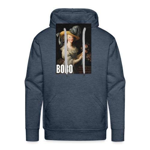 Marie Antoinette en mode bobo - Sweat-shirt à capuche Premium pour hommes