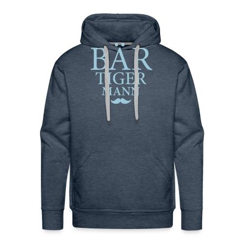 Bär-Tiger-Mann - Männer Premium Hoodie