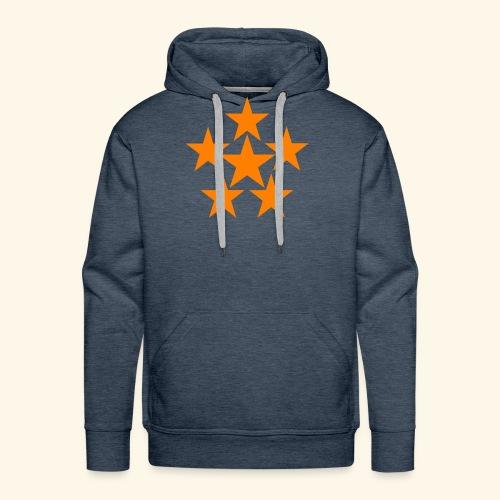 5 STAR orange - Männer Premium Hoodie