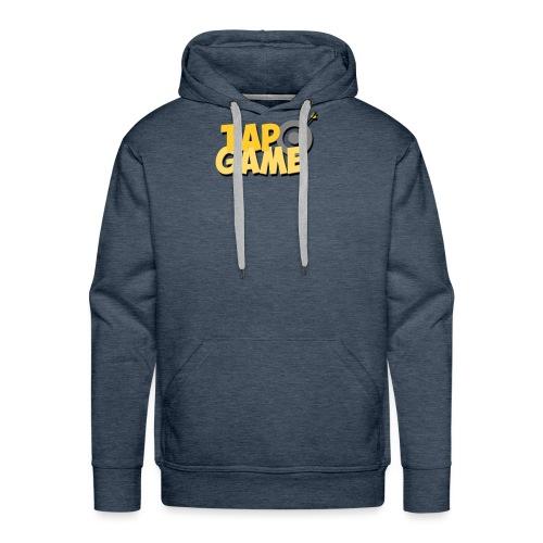 Tap Game - Felpa con cappuccio premium da uomo