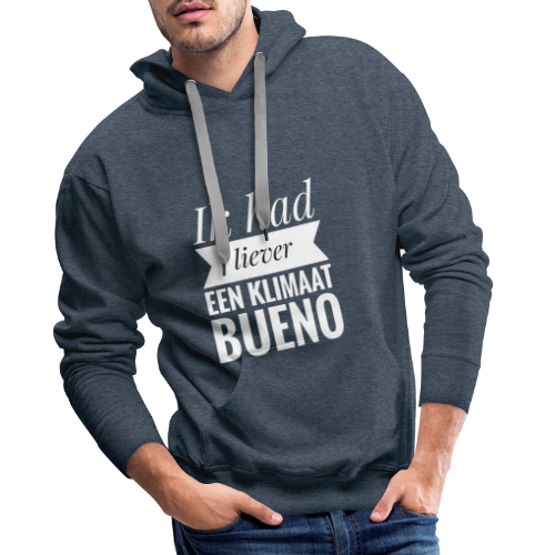 Mars climatique - Sweat-shirt à capuche Premium pour hommes