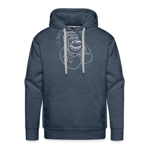 Rapetous (Blanc) - Sweat-shirt à capuche Premium pour hommes