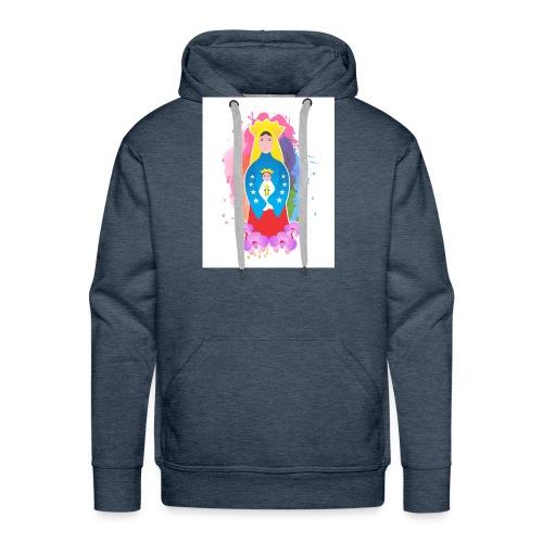 patrona de Venezuela - Sudadera con capucha premium para hombre