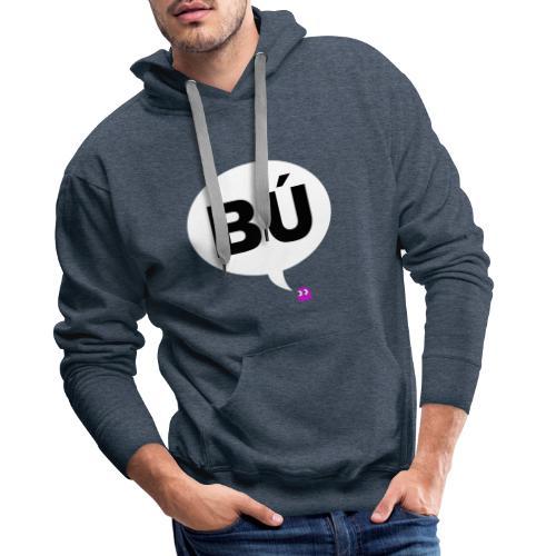 Bú - Sudadera con capucha premium para hombre